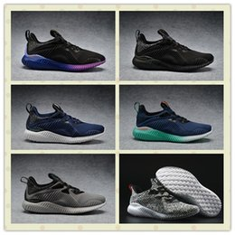 Wholesale Originals Men Alpha Bounce Boost Sports Running Shoes Women Alphabounce Sneakers With Box Size US5