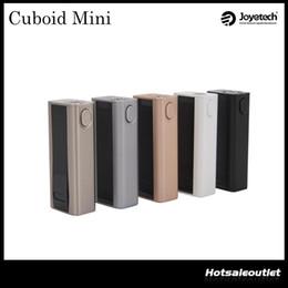Joyetech Cuboid Mini Mod 80W Support VW VT Bypass TCR Mode 2400mah Capacity E-Cigarettes Mod 100% Original