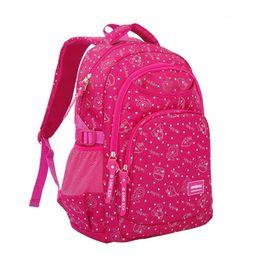 Free Shipping Big Small Special Design Student Backpack Children Pupil School Bag Girl Bags Nylon Backpacks Kids Bookbag Bag KBB047