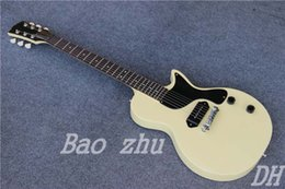 Wholesale Musical Instrument Electric Guitar Junior Reissue VOS Cream White Color