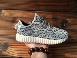 Wholesale hot Newest kanye west Milan Fashion Boost Flynit wire braid Breathable New Sneaker For Man Woman Shoes Running Shoes