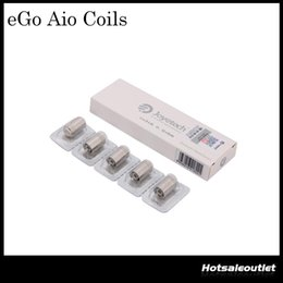 Joyetech eGo AIO Coil Head 0.6ohm Joyetech SS316 0.6ohm Coil 15-28W fit for eGO AIO Kit BF SS316 Coils 100% Original