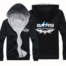 Canada New Cheap Wholesale BRS Black Rock Shooter Hommes Sports d'hiver Vêtements d'extérieur Manteaux Hoodies Wool Blends Jersey Epousant Cardigan Sweater Jacket cheap wool rock Offre