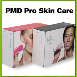 Wholesale PMD Pro Skin Care Tools Personal Microderm Pro PMD Portable Beauty Equipment Device VS Mia Mia fit Alpha Fit Facial Cleaner Refly