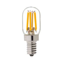 Wholesale T20 Radio Refrigerator Lamp W Super Warm K Retro LED Filament Bulb E12 E14 Base V VAC Dimmable