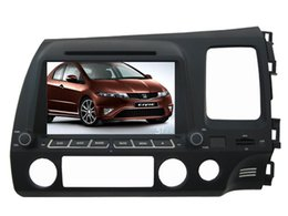 Wholesale 4UI intereface combined in one system CAR DVD PLAYER FOR Honda CIVIC Right drive RDS Bluetooth GPS NAVI RADIO MAP