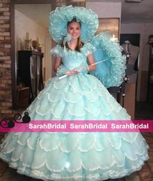 Wholesale Vintage th Southen Belle Dresses Quinceanera Ball Gowns Fashion Azalea Trail Maids Dress Sweet Dresses Prom Party Pageant Gowns