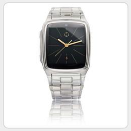 Wholesale Smartwatch Phone JAVA TW810 Stainless Steel Smart Bluetooth Watch Mobie Wristwatch with HD DV Recording FM Radio