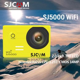2015 new Arrival Original SJ5000 WIFI SJCAM Action Camera Waterproof Camera Novatek 96655 1080P Full HD Helmet Camera Waterproof Sport DV