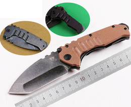 Wholesale 3 Styles Medford Armored Forces Praetorian Stonewash Steel Green Black G10 Handle Folding Knife OEM EDC Camping Hunting Tactical Knives