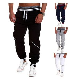 Wholesale Crotch Man - Mens Harem Pants 2016 New Style Casual Skinny Sweatpants Sport Pants Trousers Drop Crotch Jogging Pants Men Joggers Sarouel