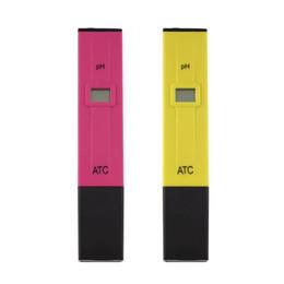 Wholesale Accurate Durable Digital pH Meters Water Soil Tester Acidity Acid Testing Pen Hours Usage for Aquarium Pool Water Laboratory