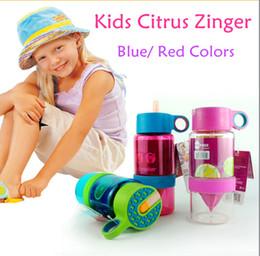 Wholesale Korea Citrus Zinger Juice Source Vitality Water Bottle Fruit Juicing Kettle kids Zinger Kids Lemon Bottle Cup With Original Box CPA001