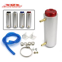 Wholesale SR NEW STYLE BILLET ALUMINUM ENGINE OIL CATCH TANK RESERVOIR BREATHER CAN SIZE OF PIPE ID MM