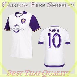 Wholesale Whosales Camisa Orlando City Soccer Jerseys Orlando City Jersey Orlando City CF Kaka SHEA Soccer Uniform A Quality