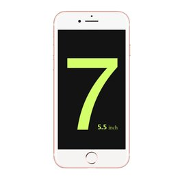 Wholesale 1 Goophone i7 plus MTK6580A Quad Core show G LTE GB Rom Real Support G GB GB Android clone Phone