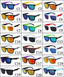 Wholesale With Logo Hot Sale Brand Designer Spied Ken Block Helm Sunglasses Multicolour Coating Lens Men Oculos De Sol Sunglasses Colors
