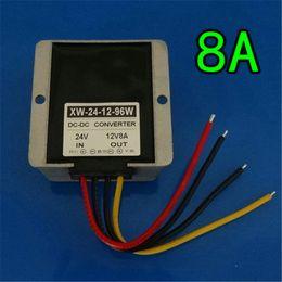 Waterproof Shockproof 12V Inverters for Electrics DCDC Step Down Converter 36V48V to 12V 20A Regulator for Digital Equipments GNED040
