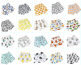 20 Patterns Baby Shorts Pants Ins Baby Clothes Summer Cute Baby Cotton Shorts 20 Style for choose 16071901