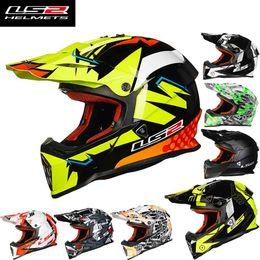 2016 New LS2 off road motorcycle helmet MX437 ABS professional racing motocross motorbike helmets size L XL XXL