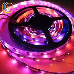 led light strips 5m 5050 smd rgb led strip WS2801 RGB changeable led strip 5050 32led m black pcb
