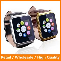 Wholesale W90 Bluetooth Smart Watch Smartwatch Luxury Leather Business Wristwatch HD Screen Calling Smart Watch for IOS Android Phone