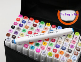 Wholesale 40pcs NEW touchfive white penholder pro art marker set copic markers micron pen Liner for drawing pen Manga Painting sakyra water brush