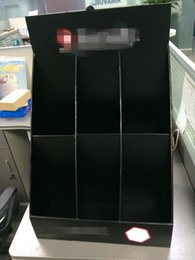 Wholesale Customized cardboard counter top display unit advertising counter display for socks