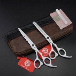 6.0 in. Purple-Dragon Professional Hair Scissors set ,Straight & Thinning scissors set,barber shears,S393 scissor japanese scissor lift