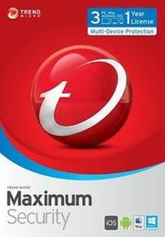Wholesale NEWEST VAERSION Trend Micro Titanium Maxmium Security YEAR Fast Delivery Best to Protect Your Computer