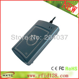 Wholesale Cheap HF MHZ ISO14443 RFID RS232 NFC Smart Card Reader Writer lector ACS ACR122S with SDK Software CD