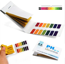 Wholesale Useful Strips PH Meters Indicator Paper PH Value Litmus Testing Paper Tester Urine PH Meter Health Care