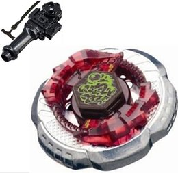 Wholesale Metal Fight launcher BB Booster Rock Escolpio T125JB BeyBlade Box Set Beyblade Launchers arma de brinquedo