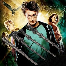 Wholesale Hermione Harry James Potter Keychain Harry Potter Alloy magic wand Pendant Voldemort Dumbledore necklace