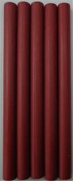 Wholesale Good Quality multi colored Embossing acrylic Burgundy glue gun sealing wax sticks