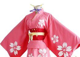 Japanese Anime Kabaneri of the Iron Fortress Cosplay Mumei Costumes Koutetsujou no Kabaneri Japanese Kimono for women