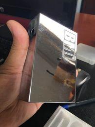 Wholesale sitting on chrome shiny chrome BMI V2R1 W to w BOX mod V2 mechanical TC mod china made VS sigelei w
