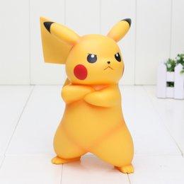 Wholesale 7 cm Poke Go Pikachu POKKEN TOURNAMENT A Prize Pikachu Figure PVC Action figure Model toy