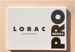 Wholesale HOT SALE Lorac new Eyeshadow White Palette colors Mega Pro Palette Limited Edit Shimme Gift Eyes cotour make up