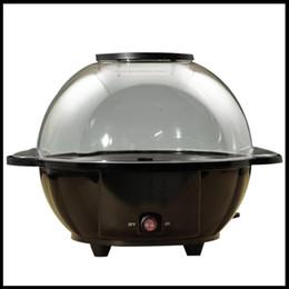 Wholesale round ball shape nostalgic hot air popcorn machine poper electronic pop corn maker