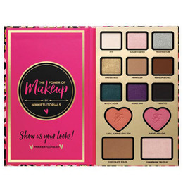 Wholesale New Arrival The Power of Makeup by Nikkie Tutorials Makeup sets Eyeshadow Face Cosmestic Palette Blush Bronzer Highlighter Eye Shadow