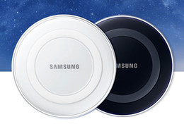 Wholesale 2016 Universal Qi Wireless Charger fast Charging For Samsung Note Galaxy S6 s7 Edge mobile pad with retail package DHL FREE