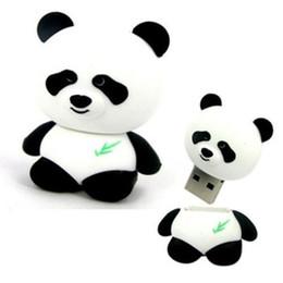 Wholesale 8GB GB GB GB Cute Panda model USB Flash Memory Stick Pen Drive High Qualtiy