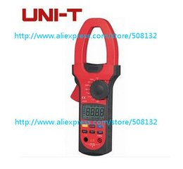 Wholesale UNI T UT Clamp LCD Digital Multimeter UT207 AC DC Volt Amp Ohm Frequence