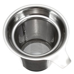 Wholesale 304 Stainless Steel Mesh Cup Reusable Strainer Herbal Locking Tea Filter Infuser Spice x8 cm HY801