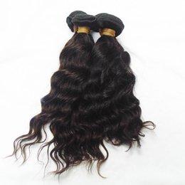 2017 vague d'eau armure bouclée 2016 Vente Hot 100% brésilienne Cheveux frisés 9A Niveau d'eau Vague Curl Human Hair Weave Bundles Beauty 10