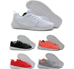 Wholesale 2016 new Summer Mens Womens Roshe Run BR Athletic running shoes fashion London Olympic Mesh Light weight Breathable sports Shoes