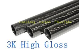 1-10 pcs 20MM OD x 18MM ID x 1000MM (1m) 100% 3k Carbon Fiber tube   Tubing  pipe shaft, wing tube Quadcopter arm Hexrcopter20*18