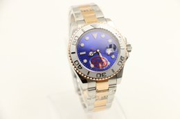 Wholesale Top quality Luxury Sapphire mm BLue DIAL MODEL Automatic Mens Watch Men s Wrist Watches