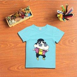 Wholesale 2016 summer new fashion boy clothing manufacturers selling Korea Crayon Shin Chan cartoon child T shirt